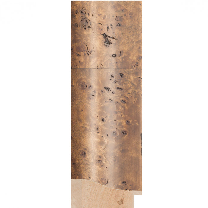 Havana Lt Walnut Burl Veneer Timber Frame