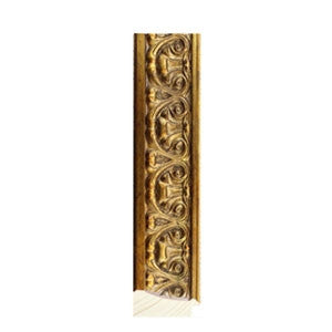 Gold Ornate Timber Frame