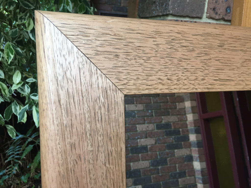 Solid Tasmanian Oak Timber with Bullnose Frame