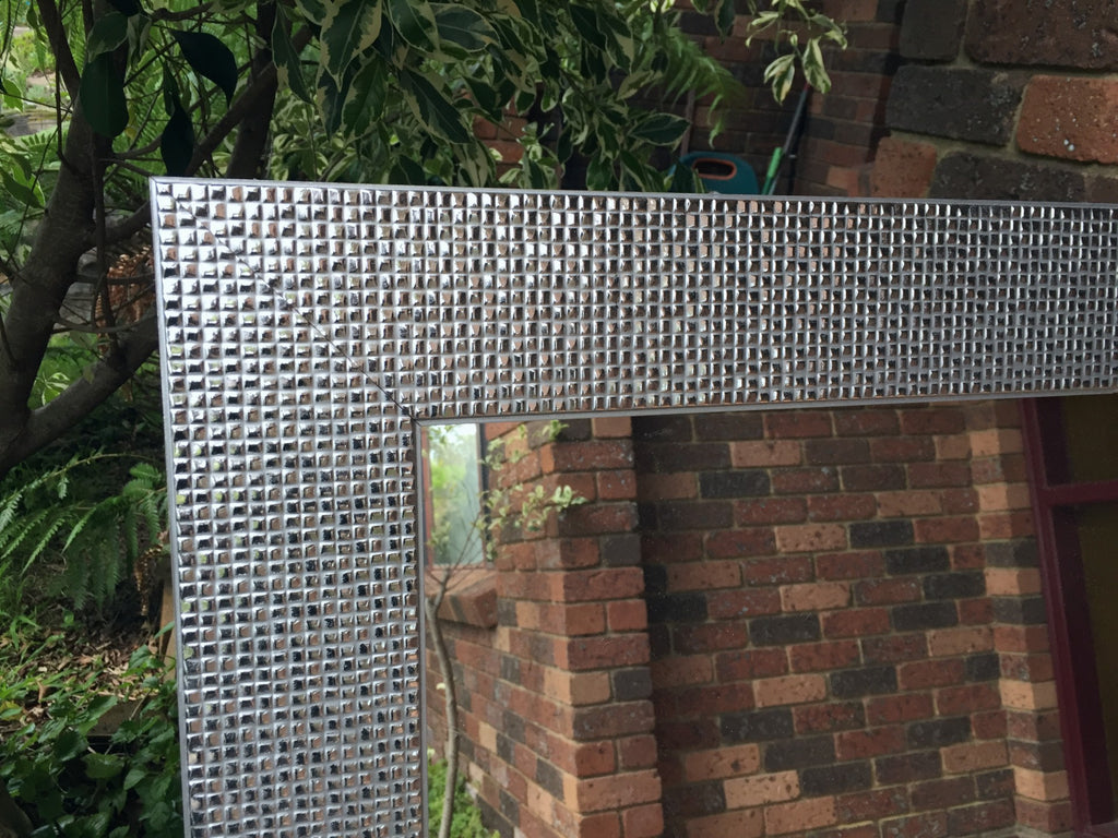 Sale Item Mosaic Chrome Silver Mirror 200x75cm