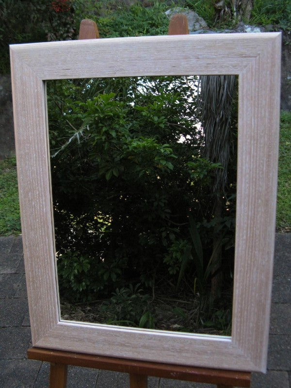 Tas Oak Whitewash Mirror