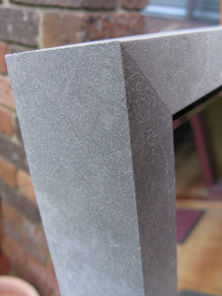 Urban Style Cement Look Grey Timber Frame