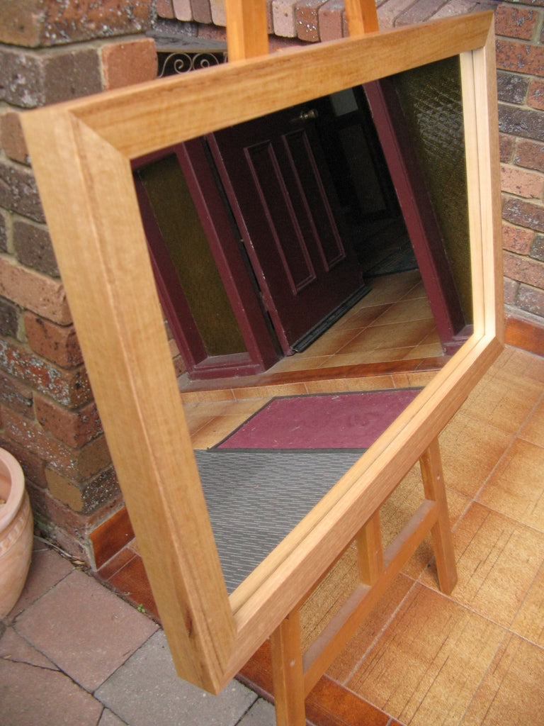 Australian Hardwood Natural Tas Oak Timber Framed Wall Mirror