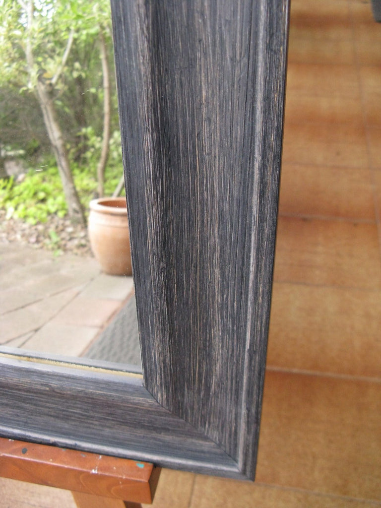 Matilda Black Wash Timber Framed Mirror