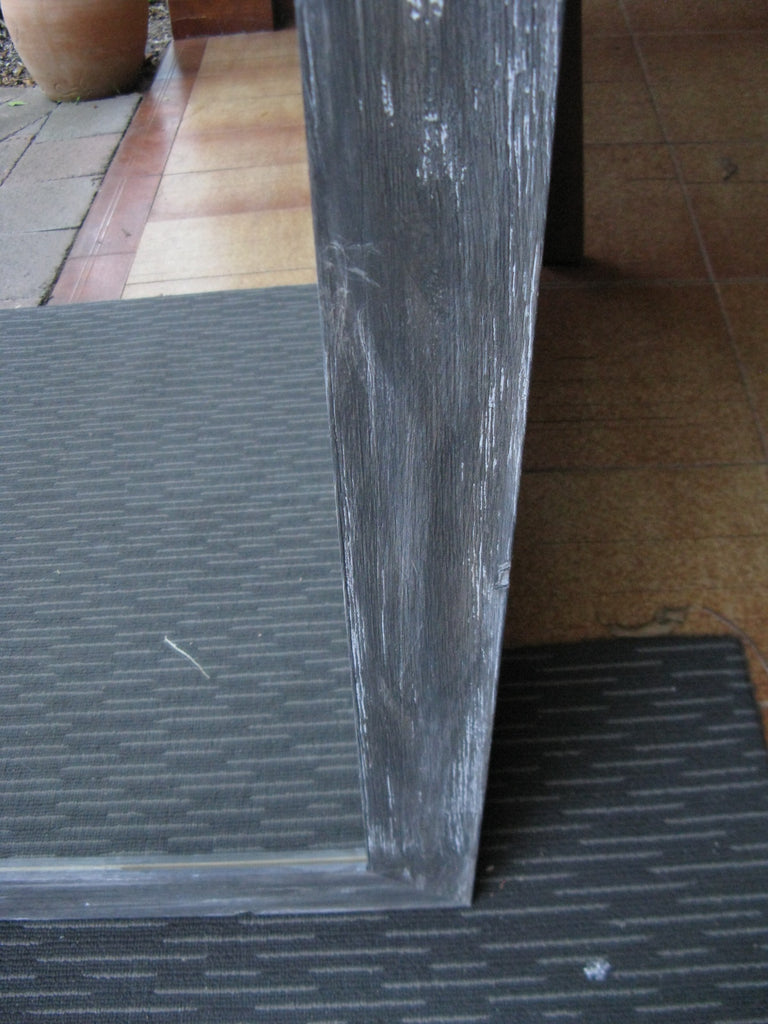 Aged Grey Rustic Style Timber Frame