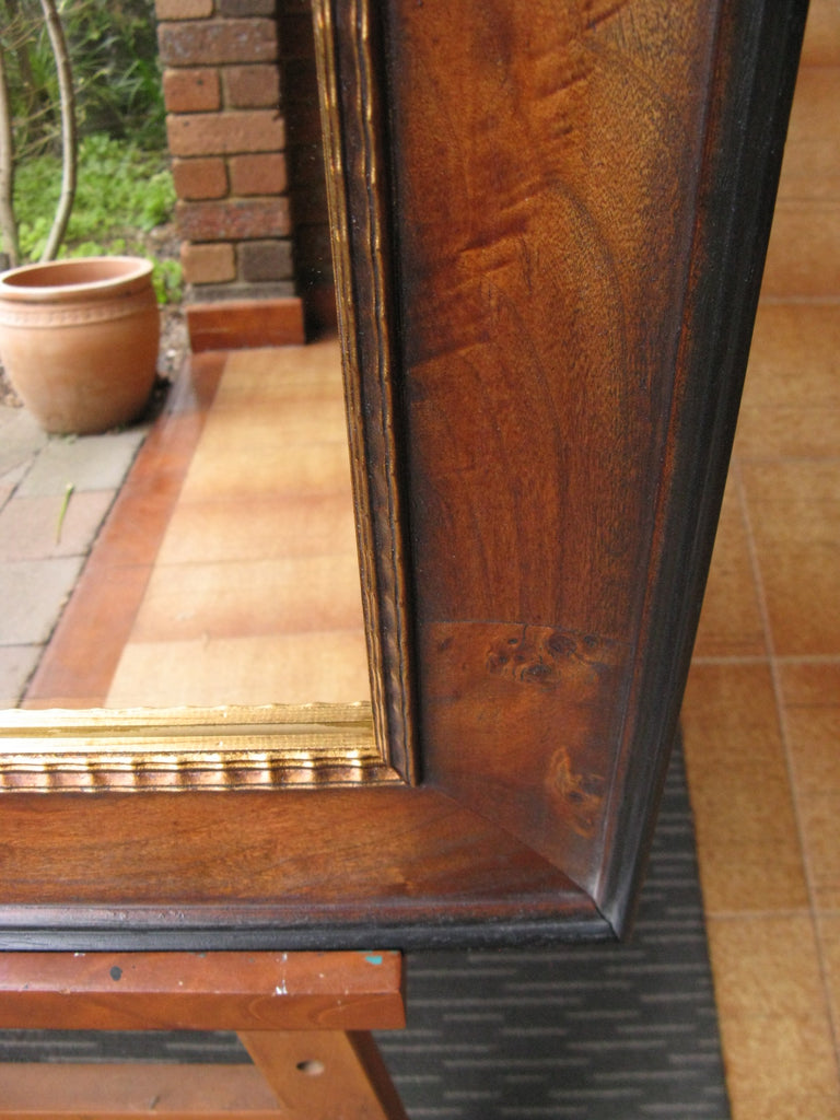 Radica Antique Walnut & Black Frame