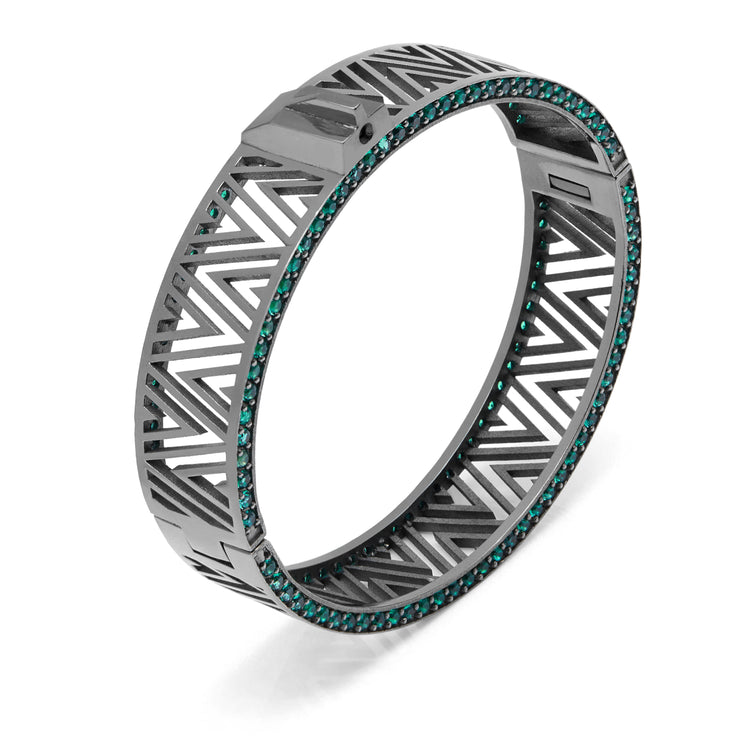 Midnight Forest Maze Target Bangle