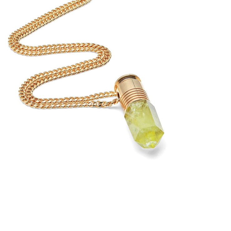 Maxi Citrine Crystal Power