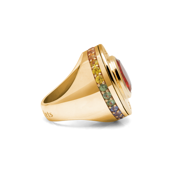 Spectrum Yellow Love Cartridge Ring