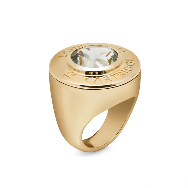Evergreen Yellow Love Cartridge Ring