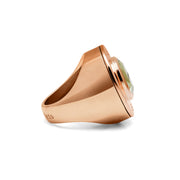 Evergreen Rose Love Cartridge Ring
