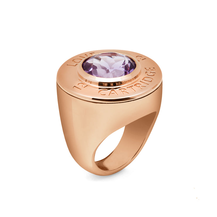 Majestic Rose Love Cartridge Ring