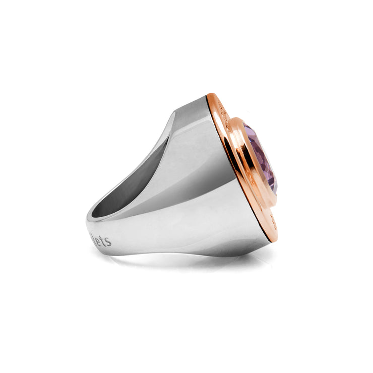 Majestic Contrast Love Cartridge Ring