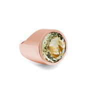 Evergreen Rose Love Shot Ring