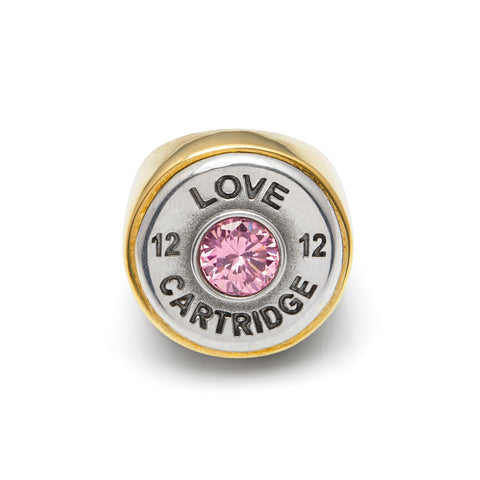 Pink Champagne Love Cartridge Ring
