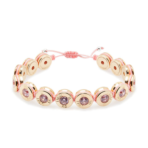18 Ct Gold Marshmellow Bling Bracelet