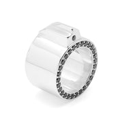 Midnight Moon Love Target Ring