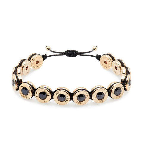 18 Ct Gold Midnight Bling Bracelet