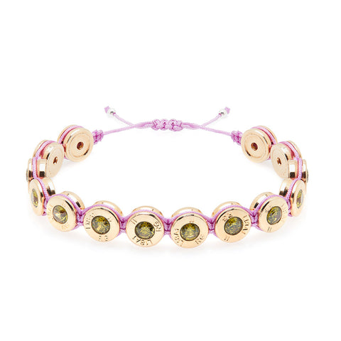 18 Ct Gold Spring Bling Bracelet