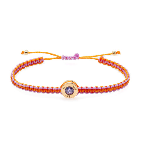 18 Ct Gold Sunset Bond Bracelet
