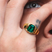 Lovebullets emerald ring