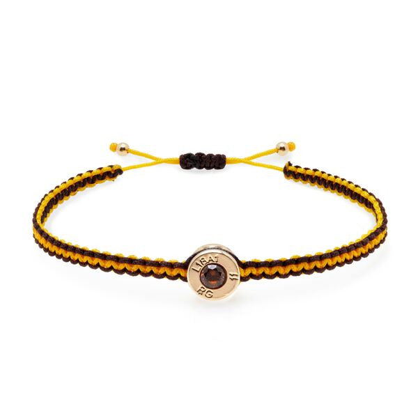 18 Ct Gold Wasp Bond Bracelet