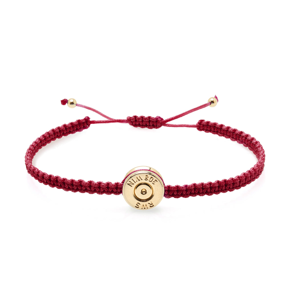 18 Ct Gold Cherry Bond Bracelet
