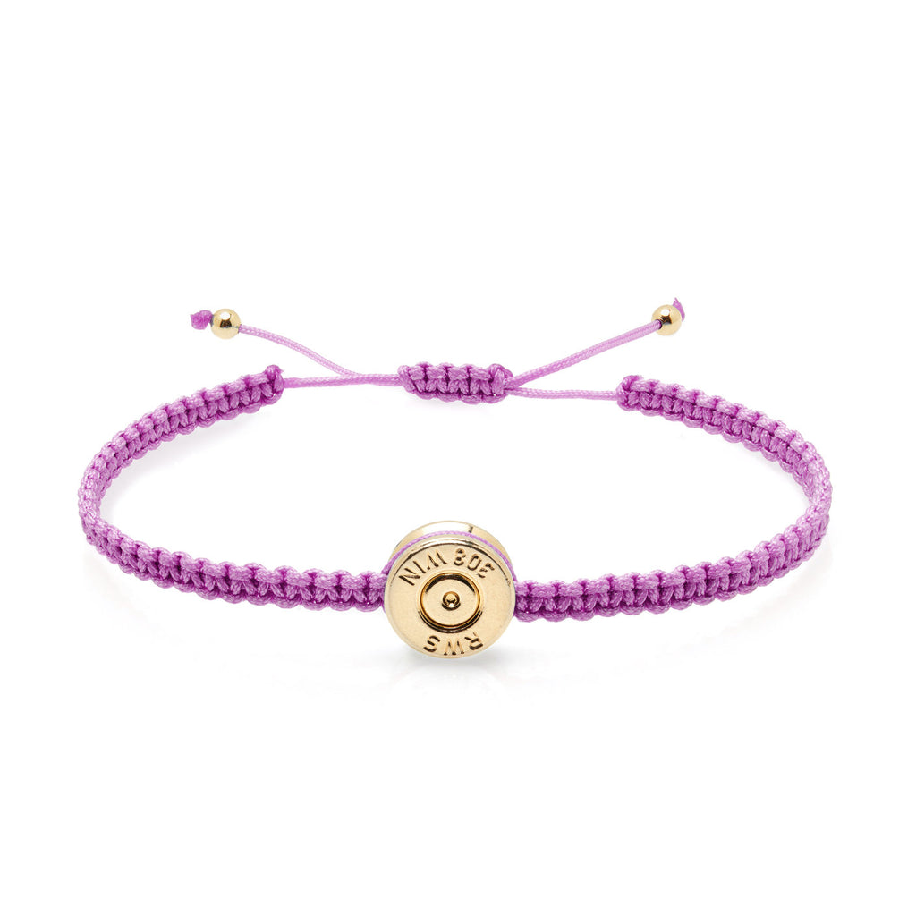 18ct Gold Lavender Bond Bracelet