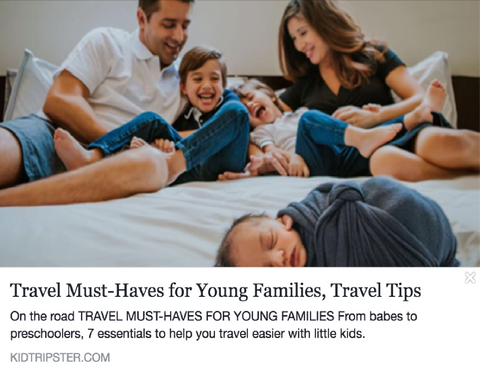 Travel Must-Haves for Young Families