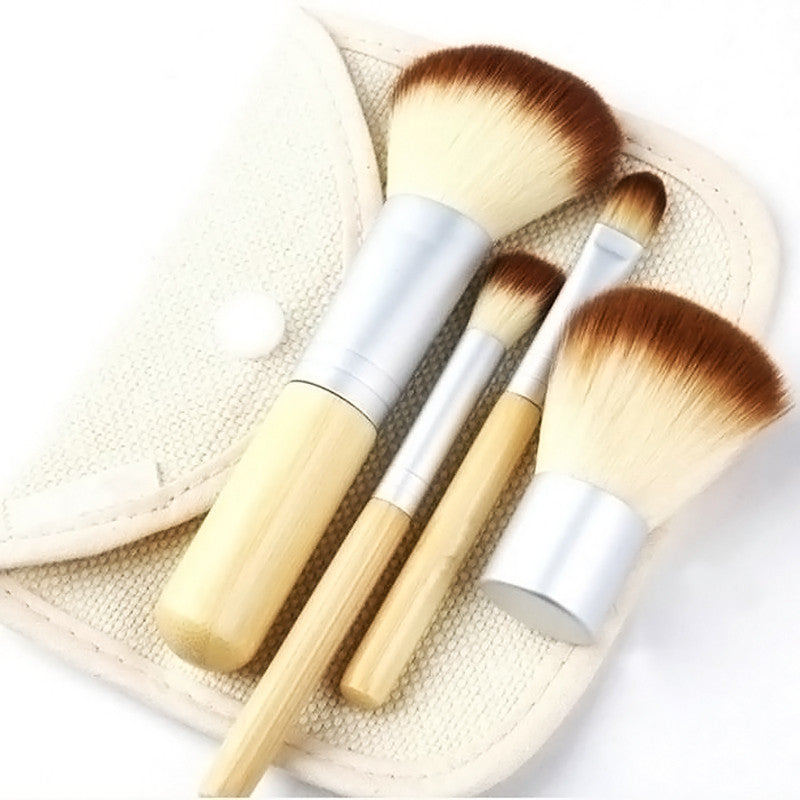 Set of pro make up brushes