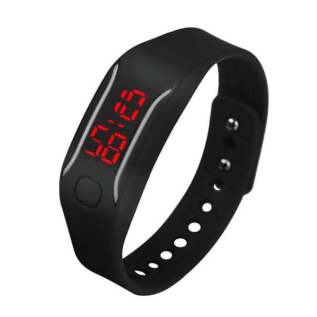 Masculino Mens Womens Silicone LED Watch