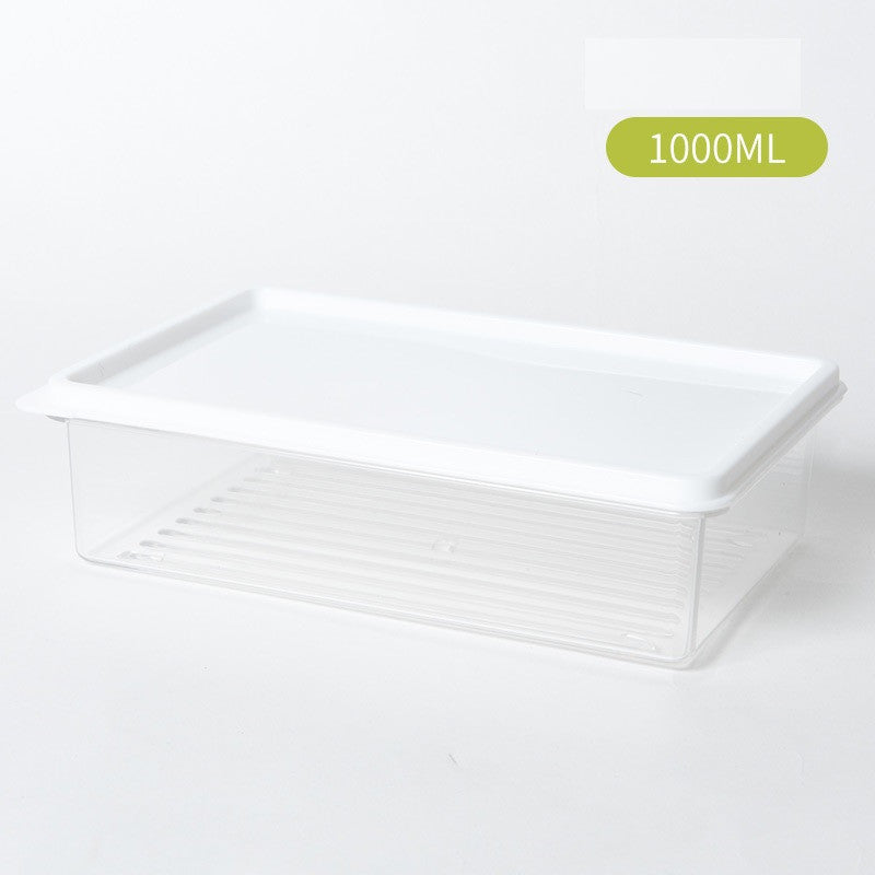 Crisper, Glass Meal Prep Containers, 1 Pack