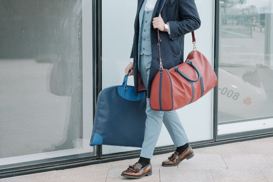 The importance of luggage for a gentleman's suit and accessories