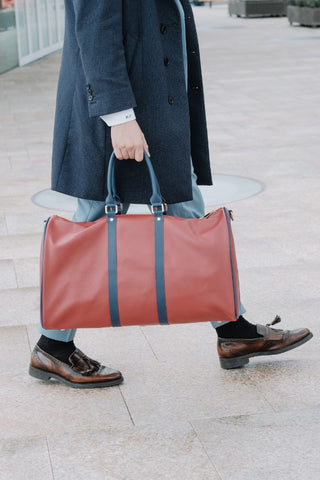 SOJOURNE LUGGAGE Red Duffle Bag