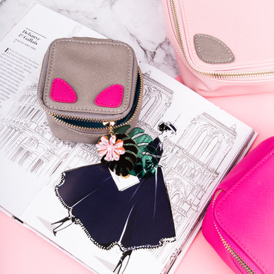 Small Accessories Pouch Pink