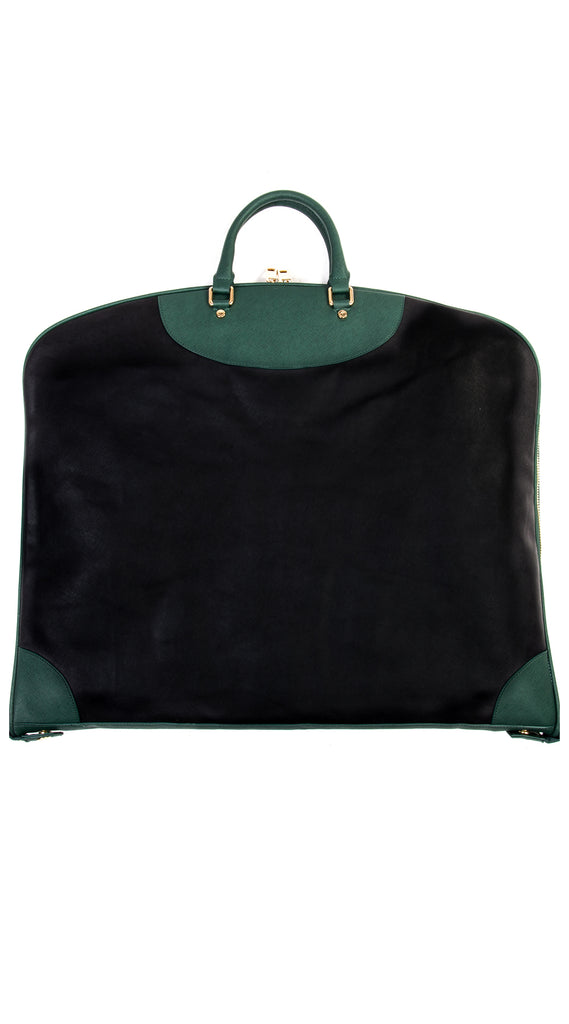 Garment Bag - Black/Green