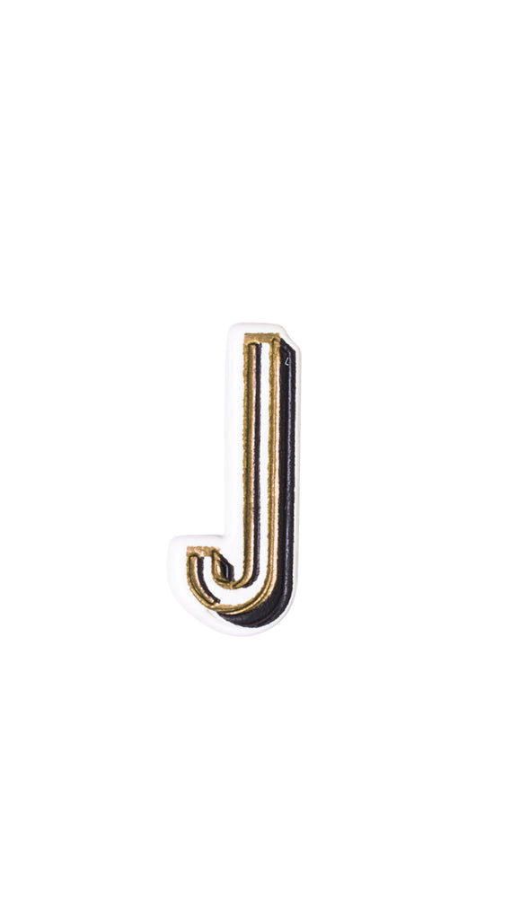 Monogram Letter Sticker