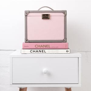 Beauty Case - Pink/Grey