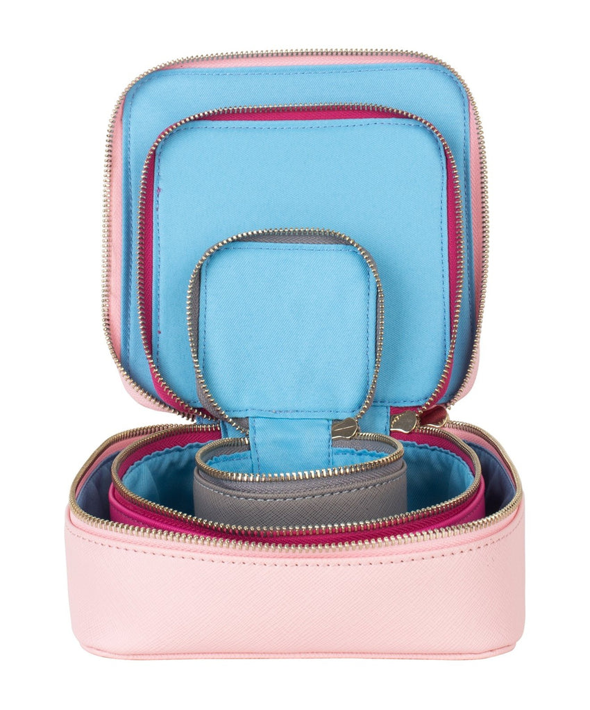 Accessories Pouch Set - Pink