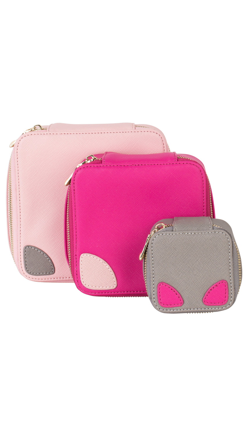 Large Accessories Pouch - Pink