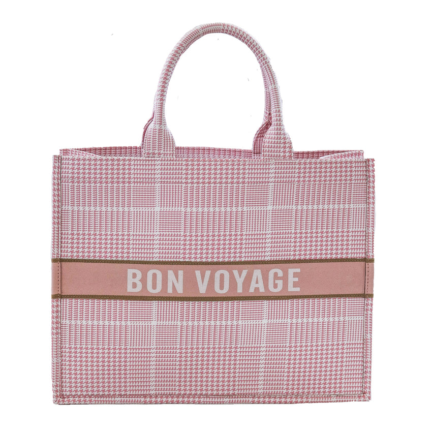 Bon Voyage Book Bag