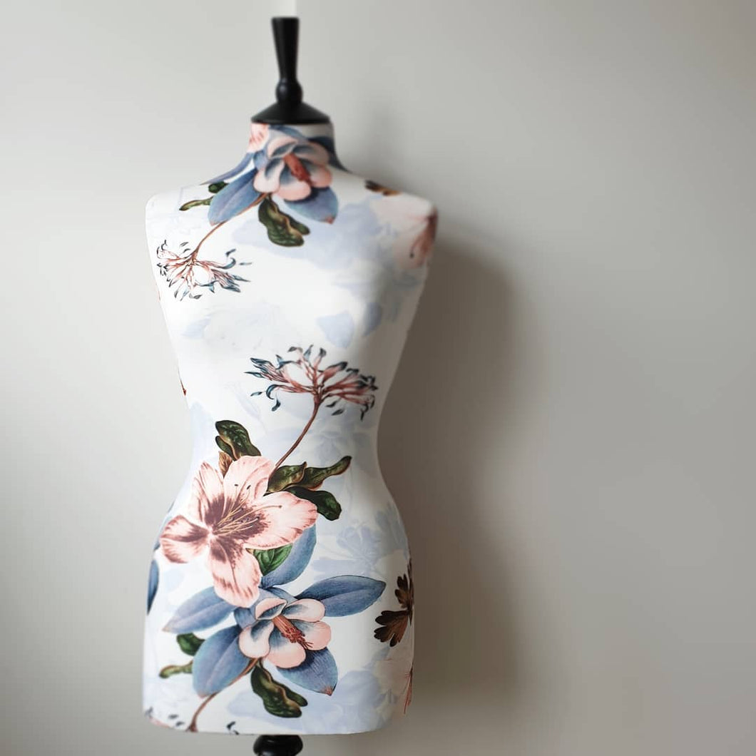 Mannequin Cover Floral Tropica