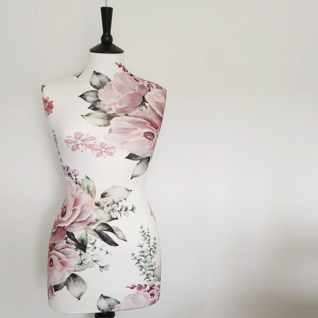 Mannequin Cover Floral Peony