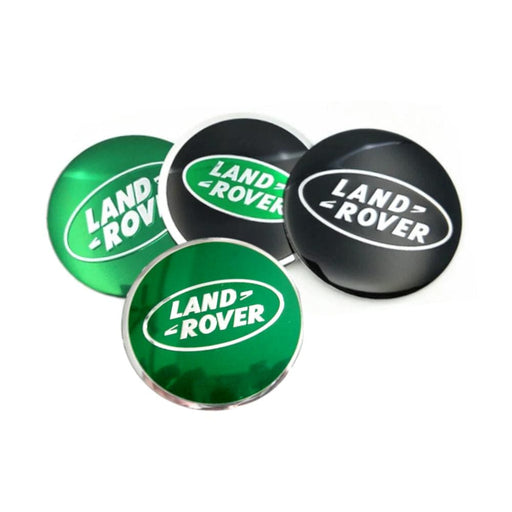 4pcs 56mm Land Rover Logo Wheel Center Stickers