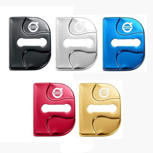 4pcs Volvo Logo Door Lock Cover XC60 MIX V40 ect