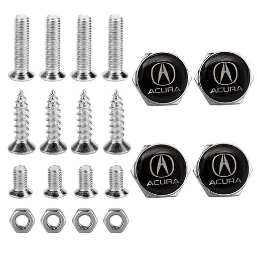4pcs License Plate Screws for Acura Frame