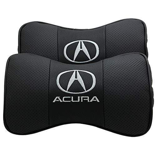 2pcs Acura Car Pillow Neck Rest Headrest