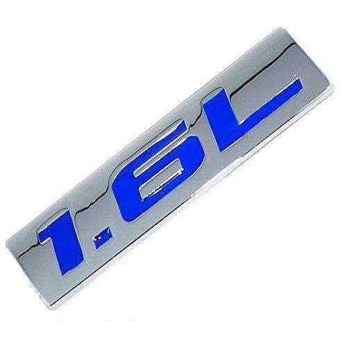AUDI 1.6L Emblem Blue for Audi Emblems Stickers blue