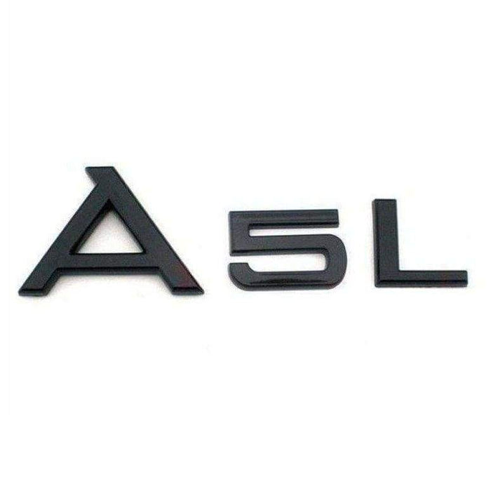 A5L Emblem Sticker for Audi A5 - Black