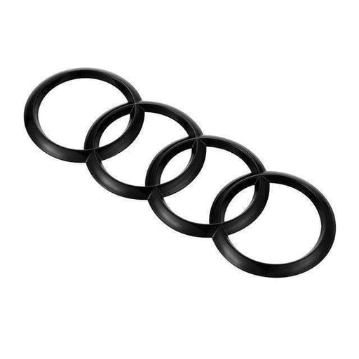 AUDI Audi Rings Black Emblem Sticker 215x70mm Emblems Stickers